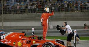 Formula 1 Bahreyn kazanan Vettel