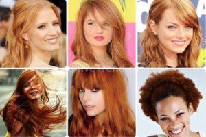 Sarı saç renkleri kataloğu