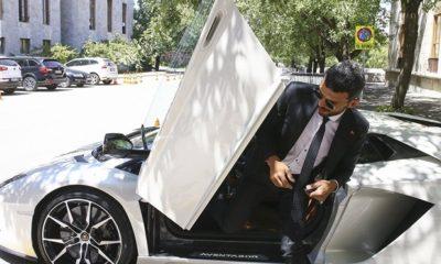 AK Partili Sofuoğlu Meclise Lamborghini ile geldi