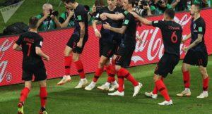 Hırvatistan, ingiltere'yi eleyerek tarihinde ilk kez finale yükseldi