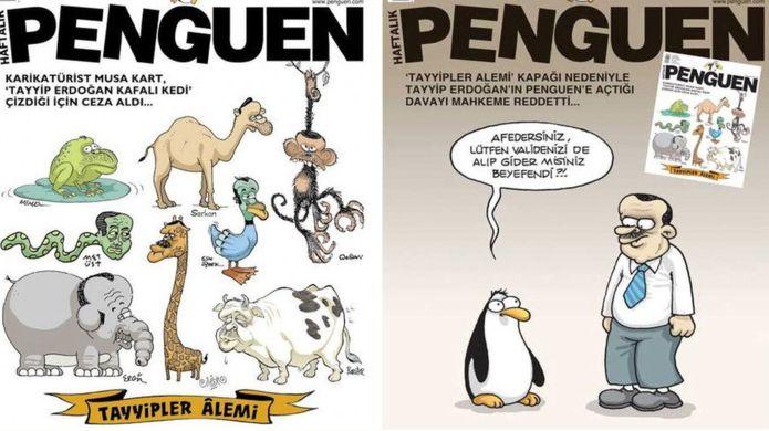 Karikatür Nedeniyle ODTÜ Mezunlarına Gözaltı