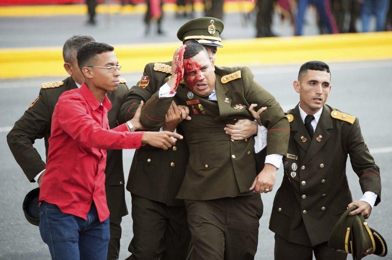 Venezuela lideri Maduro patlayıcı yüklü drone saldırısından kurtuldu