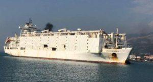 21 bin ithal hayvanı taşıyan gemi İskenderun'a geldi