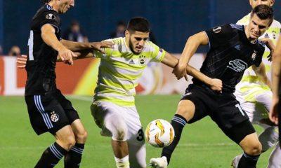 Fenerbahçe, deplasmanda Zagreb'e 4-1 mağlup oldu
