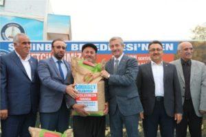 Şahinbey belediyesi çiftçilere gübre desteği yapacak