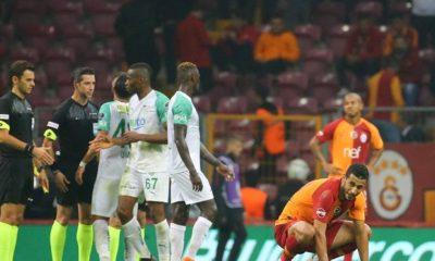 Galatasaray Bursaspor ile 1-1 berabere kaldı