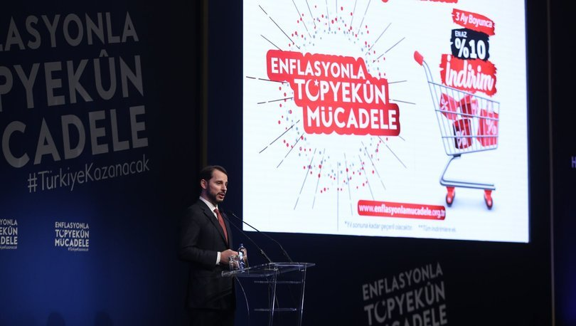 Enflasyonla Topyekun Mücadele kampanyası başlatıldı
