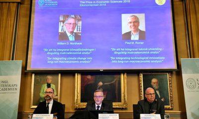 Nobel ekonomi ödülü iki kişi tarafından paylaşıldı