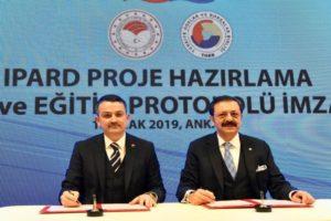 IPARD proje hazırlama işbirliği ve eğitim protokolü imzalandı