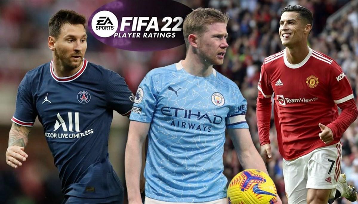 FIFA 22'nin en yüksek oyuncu reytingleri belli oldu