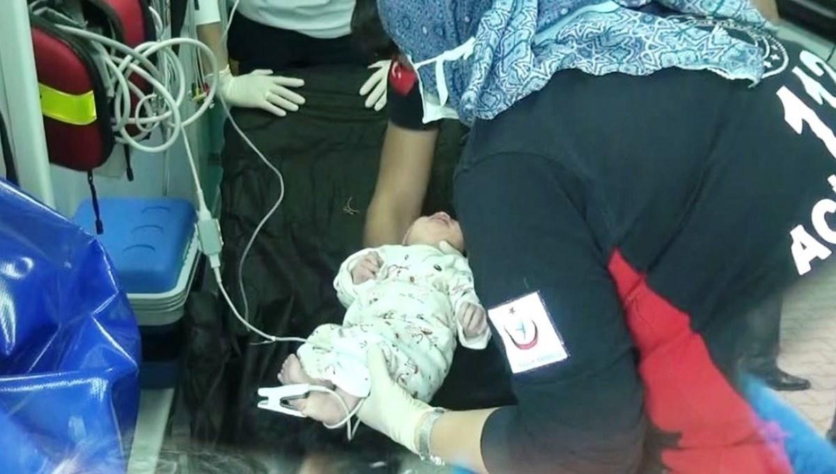 Mezarlıkta gömülü bulunan bebek için iki gözaltı