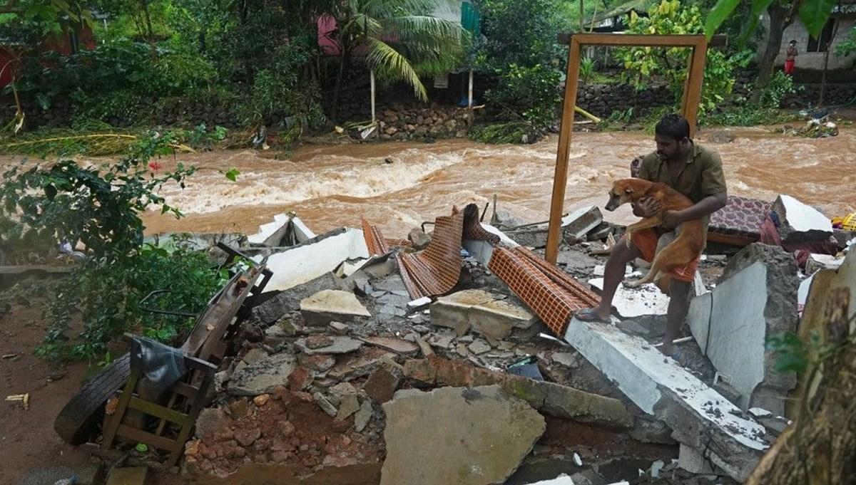Hindistan'da sel ve toprak kayması: En az 18 ölü