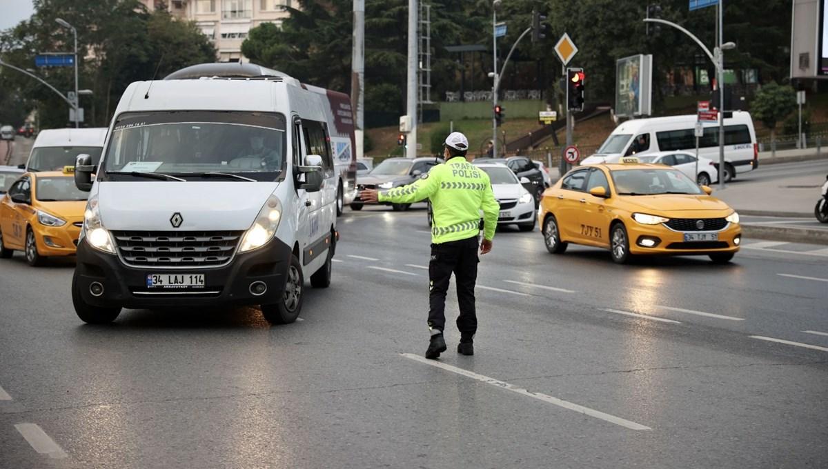 İstanbul'da okul servislerine yönelik denetim