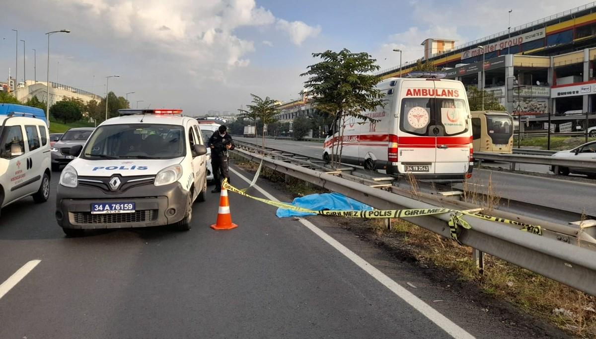 İstanbul'da yolcu otobüsü yayaya çarptı: 1 ölü
