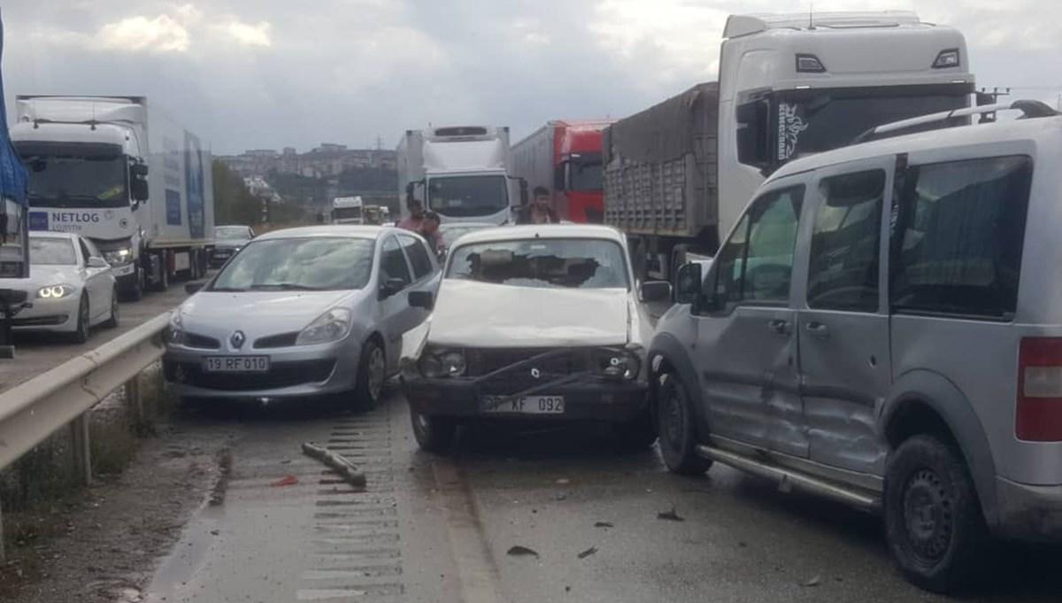 Kastamonu'da zincirleme kaza: 10 yaralı