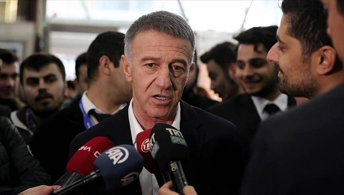 Trabzonspor Başkanı Ahmet Ağaoğlu: MHK'den 18 kulüp rahatsız